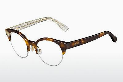 Lunettes design Jimmy Choo JC151 Q3Y - Or, Brunes, Havanna