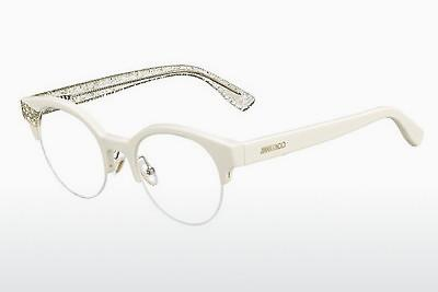 Lunettes design Jimmy Choo JC151 QA6 - Blanches, Or