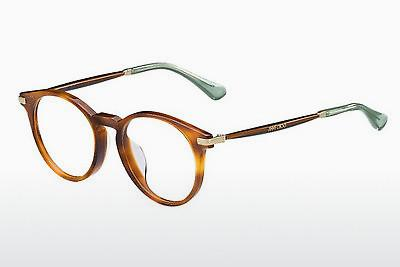 Lunettes design Jimmy Choo JC152 QAN - Brunes, Havanna