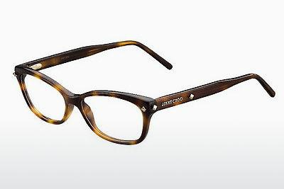 Lunettes design Jimmy Choo JC161 05L - Brunes, Havanna