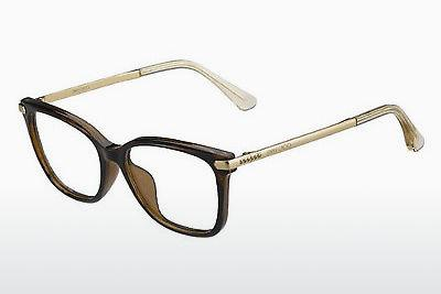 Lunettes design Jimmy Choo JC174 N0K - Or, Brunes, Havanna