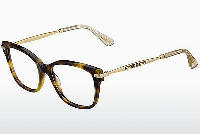 Lunettes design Jimmy Choo JC181 14B - Or, Brunes, Havanna