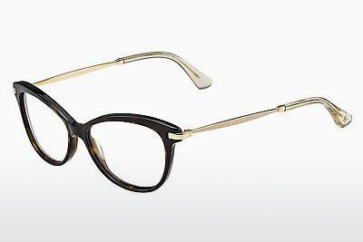 Lunettes design Jimmy Choo JC95 7VI - Brunes, Havanna