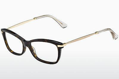 Lunettes design Jimmy Choo JC96 7VI - Brunes, Havanna