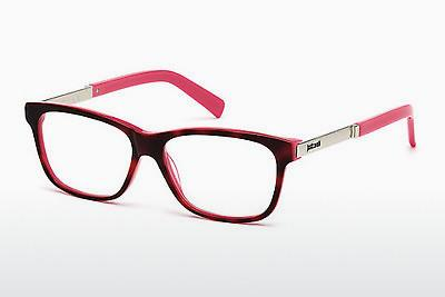 Lunettes design Just Cavalli JC0619 055 - Brunes, Havanna, Multicolores