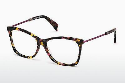 Lunettes design Just Cavalli JC0705 055 - Brunes, Havanna, Multicolores