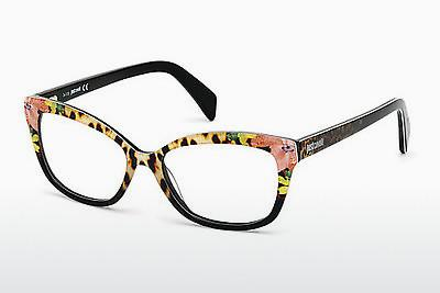 Lunettes design Just Cavalli JC0715 047 - Brunes, Bright