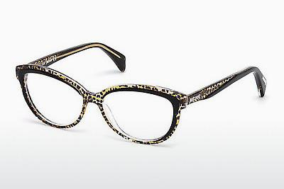 Lunettes design Just Cavalli JC0748 047 - Brunes