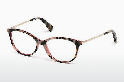Lunettes design Just Cavalli JC0755 055 - Havanna, Brunes
