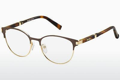 Lunettes design Max Mara MM 1254 D18 - Brunes, Or, Havanna