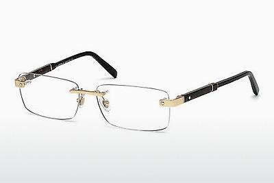 Lunettes design Mont Blanc MB0617 028 - Or