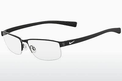 Lunettes design Nike NIKE 8098 010 - Noires, Blanches