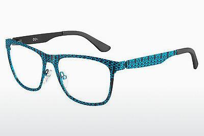 Lunettes design Oxydo OX 549/SC OBK - Flowers, Bleues