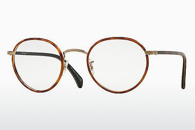 Lunettes design Paul Smith KENNINGTON (PM4073J 5236) - Orange, Brunes, Havanna, Or