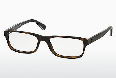 Lunettes design Polo PH2121 5491 - Brunes, Havanna