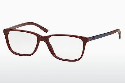 Lunettes design Polo PH2129 5516 - Rouges, Bordeaux