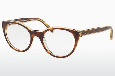 Lunettes design Polo PH2174 5637 - Transparentes, Brunes, Havanna