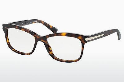 Lunettes design Prada ARROW (PR 10RV 2AU1O1) - Brunes, Havanna