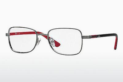 Lunettes design Ray-Ban Junior RY1036 4008 - Grises, Laiton rouge