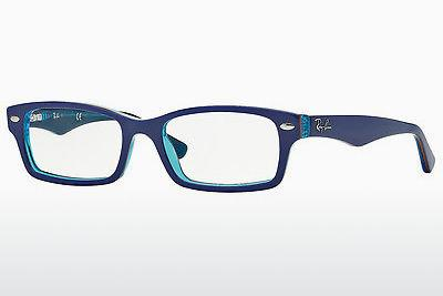 Lunettes design Ray-Ban Junior RY1530 3587 - Bleues