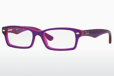Lunettes design Ray-Ban Junior RY1530 3666 - Pourpre, Violet