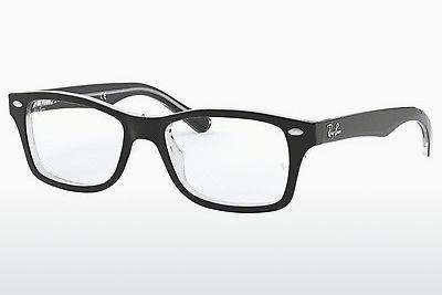 Lunettes design Ray-Ban Junior RY1531 3529 - Noires