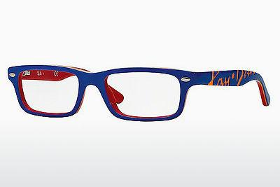 Lunettes design Ray-Ban Junior RY1535 3601 - Bleues