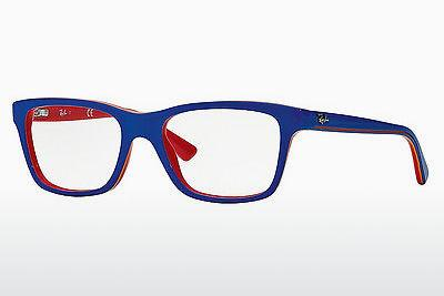 Lunettes design Ray-Ban Junior RY1536 3601 - Bleues
