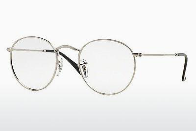 Lunettes design Ray-Ban ROUND METAL (RX3447V 2538) - Argent
