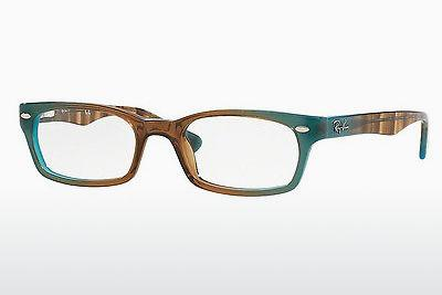Lunettes design Ray-Ban RX5150 5490 - Brunes
