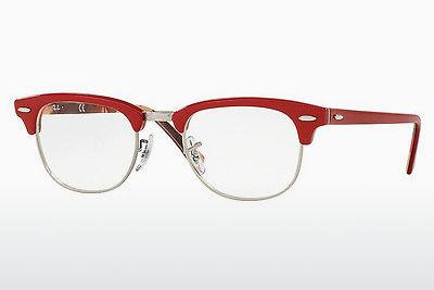 Lunettes design Ray-Ban CLUBMASTER (RX5154 5651) - Rouges