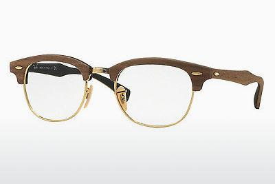Lunettes design Ray-Ban CLUBMASTER (RX5154M 5560) - Brunes, Walnut
