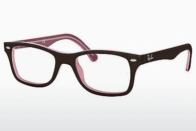 Lunettes design Ray-Ban RX5228 2126 - Brunes, Rose