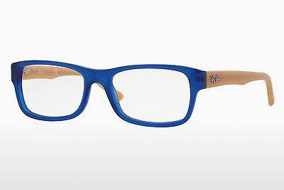 Lunettes design Ray-Ban RX5268 5554 - Bleues