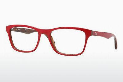 Lunettes design Ray-Ban RX5279 5130 - Rouges