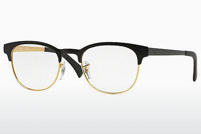 Lunettes design Ray-Ban RX6317 2833 - Noires, Or