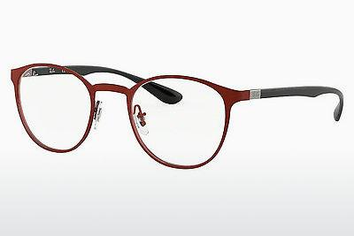 Lunettes design Ray-Ban RX6355 2922 - Rouges