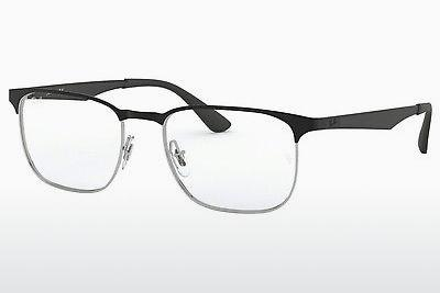 Lunettes design Ray-Ban RX6363 2861 - Argent