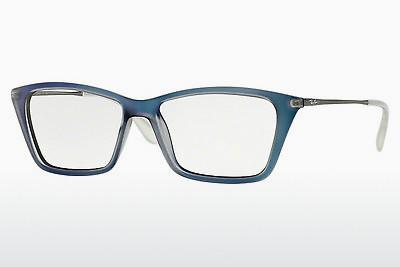 Lunettes design Ray-Ban SHIRLEY (RX7022 5496) - Bleues, Azure