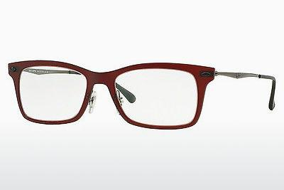 Lunettes design Ray-Ban RX7039 5456 - Rouges
