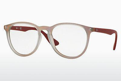 Lunettes design Ray-Ban RX7046 5485 - Rouges