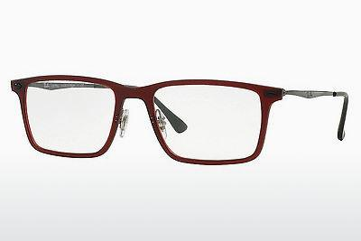 Lunettes design Ray-Ban RX7050 5456 - Rouges