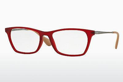 Lunettes design Ray-Ban RX7053 5525 - Rouges