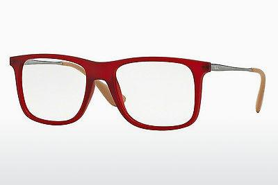 Lunettes design Ray-Ban RX7054 5525 - Rouges
