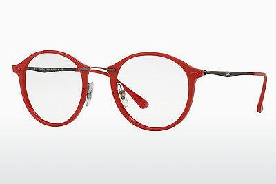 Lunettes design Ray-Ban RX7073 5619 - Rouges
