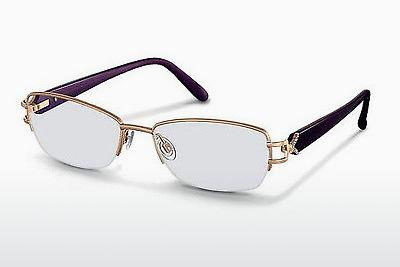 Lunettes design Rodenstock R2167 C - Or, Pourpre