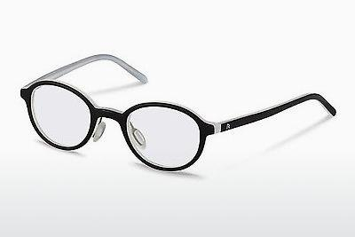 Lunettes design Rodenstock R5299 B - Noires, Blanches