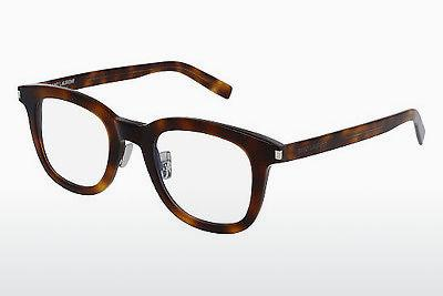 Lunettes design Saint Laurent SL 141/F SLIM 002 - Brunes, Havanna