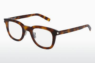 Lunettes design Saint Laurent SL 141 SLIM 002 - Brunes, Havanna