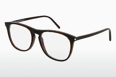 Lunettes design Saint Laurent SL 146 002 - Brunes, Havanna